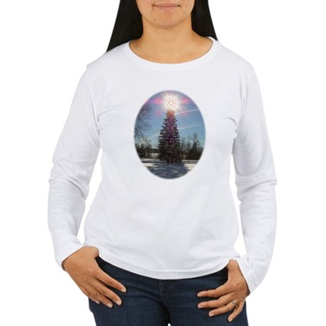 Christmas Peace Women's Long Sleeve T-Shirt