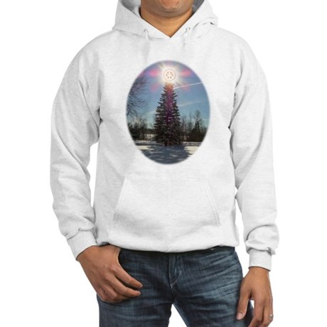 Christmas Peace Hooded Sweatshirt
