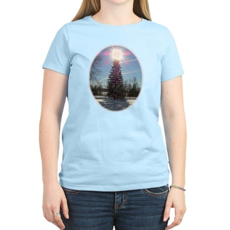 Christmas Peace Women's Light T-Shirt