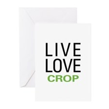 Live Love Crop Greeting Cards (Pk of 20)