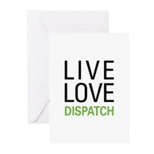 Live Love Dispatch Greeting Cards (Pk of 20)
