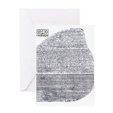 Cool Rosetta stone Greeting Card