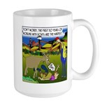 The 1st 30 Years w/ Goats Large Mug