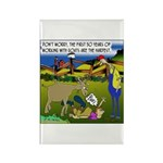 The 1st 30 Years w/ Goats Rectangle Magnet (10 pac