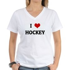 I Love HOCKEY Shirt