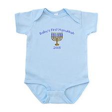 Baby's First Hanukkah 2008 Infant Bodysuit
