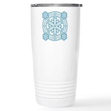 Celtic Winter Ceramic Travel Mug