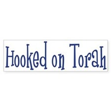 Hooked on Torah Bumper Bumper Sticker