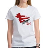 Tae Kwon Do Girl Tee
