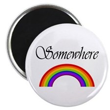 "Somewhere Over the Rainbow 2.25"" Magnet (100 pack)"