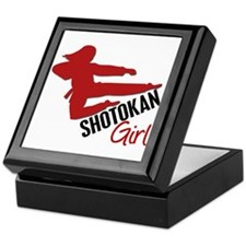 Shotokan Girl Keepsake Box