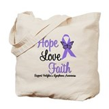 Hodgkin's HopeLoveFaith Tote Bag