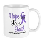 Hodgkin's HopeLoveFaith Mug
