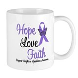 Hodgkin's HopeLoveFaith Small Mugs