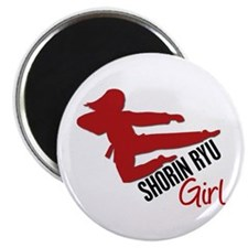 Shorin Ryu Girl Magnet