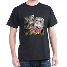 Ferrets with Lollipop T-Shirt