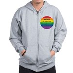 CIVIL RIGHTS EVERYONE Zip Hoodie