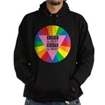 LOVE HOT HATE NOT Hoodie (dark)