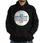 GAY REPUBLICANS? Hoodie (dark)
