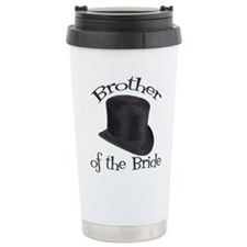 Top Hat Bride's Brother Ceramic Travel Mug