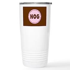 Polka Dot Groom's Niece Travel Mug