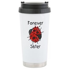 Forever Sister Ceramic Travel Mug