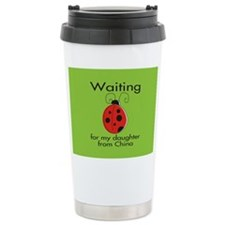 Waiting Parent Ceramic Travel Mug