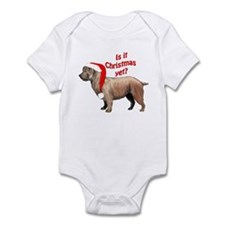 Glen of Imaal Christmas Infant Bodysuit