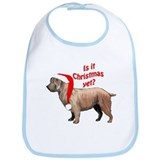 Glen of Imaal Christmas Bib