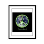 Peace on Earth Framed Panel Print