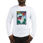 Lighthouse Christmas Lights Long Sleeve T-Shirt