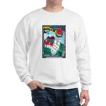 Lighthouse Christmas Lights Sweatshirt
