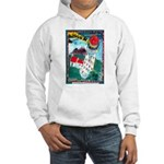 Lighthouse Christmas Lights Hooded Sweatshirt