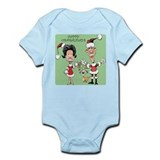 Funny Barack obama dogs Infant Bodysuit