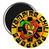 "Vampire Chili Peppers 2.25"" Magnet (10 pack)"