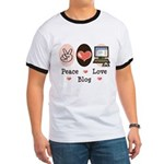 Peace Love Blog Blogging Ringer T