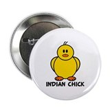 "Indian Chick 2.25"" Button"