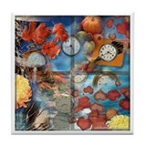 Fall Passing Tile Coaster