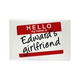 Twilight - Edward's Girlfrien Rectangle Magnet