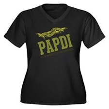 Papdi - Its Whats For Dinner Women's Plus Size V-N