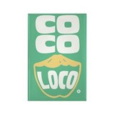 Coco Loco Rectangle Magnet (100 pack)