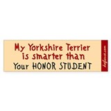 Yorkshire Terrier Bumper  Bumper Sticker
