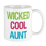 Wicked Cool Aunt! Small Mug