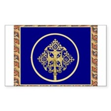 Ethiopian Orthodox Rectangle Decal