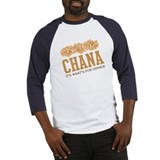 Chana - Its Whats For Dinner Baseball Jersey