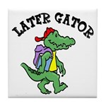 Later Gator Tile Coaster