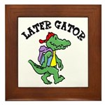 Later Gator Framed Tile