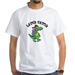Later Gator White T-Shirt