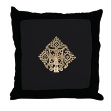 Ethiopian Design Throw Pillow
