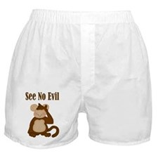 See No Evil Boxer Shorts